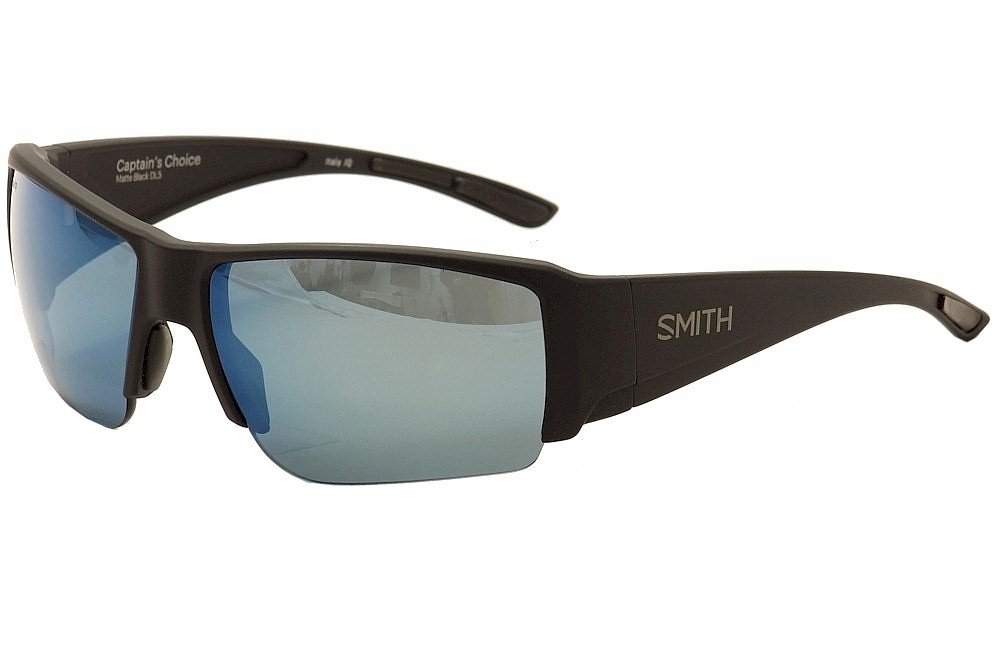 4e1ddaf17a Amazon.com  Smith Captains Choice ChromaPop+ Polarized Sunglasses ...