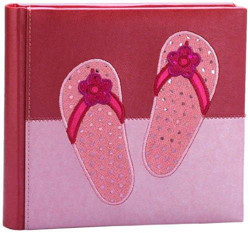 Fetco Home Décor Heidi Sparkle Album Flip Flops Pink Buy Online