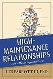 High-maintenance Relationships