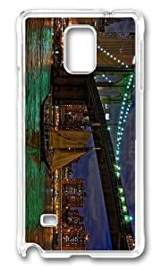 Adorable brooklyn bridge east river Hard Case Protective Shell Cell Phone Iphone 4/4S - PC Transparent hjbrhga1544