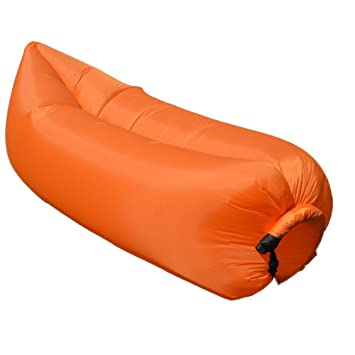 oisk® Lazy bag laybag saco de dormir rápido aire inflable camping ...