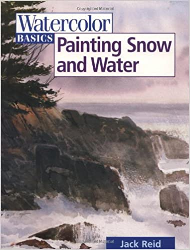 watercolor basics painting snow and water
