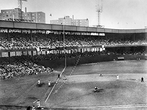 Thomson Home Run 1951 Nbobby Thomson Of The New York Giants Hitting His Pennant-Winning Home Run The So-Called Shot Heard Round The World Off Of Pitcher Ralph Branca Of The ()