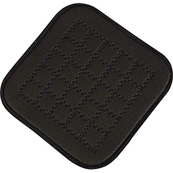 San Jamar UHP77BK Ultigrip Square Commercial Hot Pad Pan Holder, 7