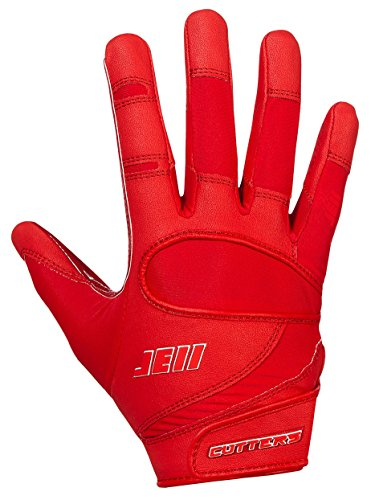 Cutters Gloves Signature Series Gloves, Red, Large