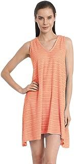 product image for JORDAN TAYLOR Belize Coral V-Neck Handkerchief Dress S