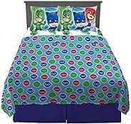 Franco Kids Bedding Super Soft Sheet Set, 4 Piece Full Size, PJ Masks