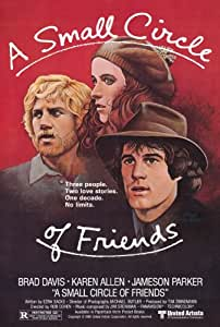 A Small Circle of Friends POSTER Movie (27 x 40 Inches - 69cm x 102cm) (1980)