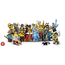 LEGO Series 15 Minifigures - Complete Set of 16 Minifigures (71011)