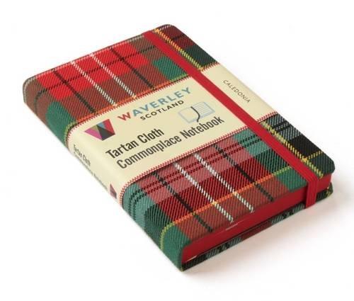 Caledonia Tartin Notebook (Waverley Genuine Scottish Tartan Notebook)