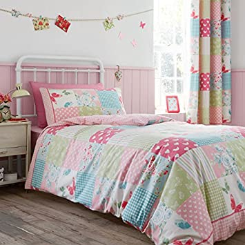 catherine lansfield bedding and curtains