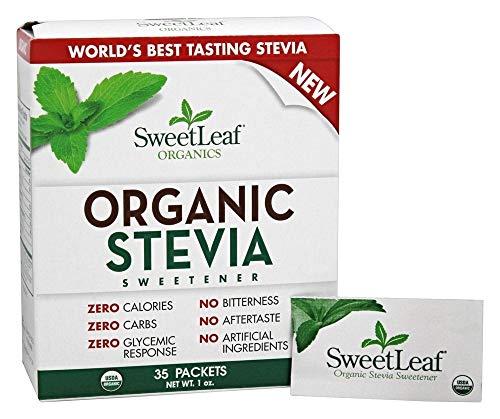 SWEETLEAF STEVIA STEVIA ORG 35PC