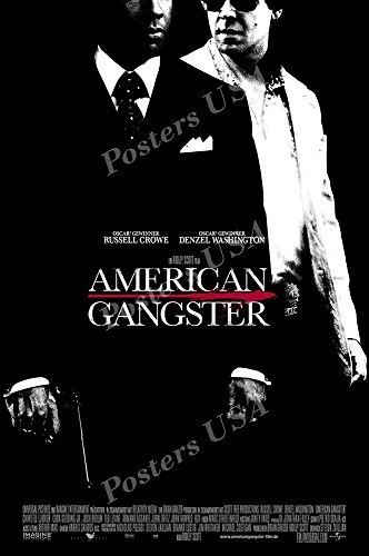 Posters Usa American Gangster Movie Poster Glossy Finish   Mov866  24  X 36   61Cm X 91 5Cm