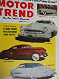 1953 Lincoln Capri / Plymouth / Studebaker Champion / BMW 501 Magazine Article