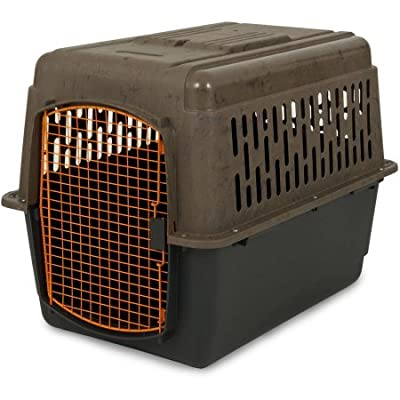 "Ruff Maxx 36"" Kennel for Dogs Weighing 50-70 lbs, Camo/Orange"