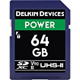 Delkin Devices 64GB Power SDXC 2000X UHS-II (U3/V90) Memory Card (DDSDG200064G)