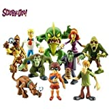 Scooby Doo Geheimnis Mates - Beheben von Crew und The Monsters Mega 10 Figure Pack