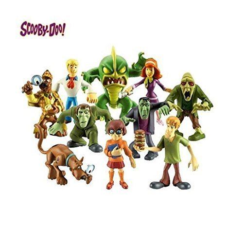 Scooby Doo Mystery Mates - Solving Crew and The Monsters Mega 10 Figure Pack by Character Options (Mystery Mates)