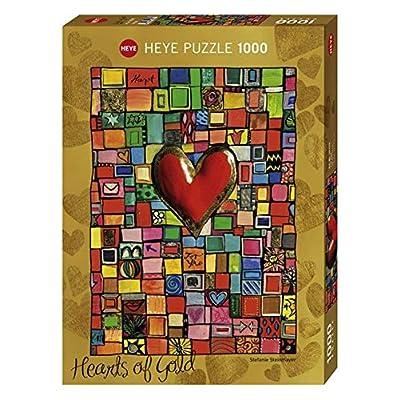 Heye Vd 29709 Puzzle Standard Teile Stefanie Stein Mayer Hearts Of Gold 1000 Pezzi