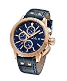 TW Steel 'CEO Adesso' Quartz Stainless Steel Casual Watch, Color:Blue (Model: CE7015)