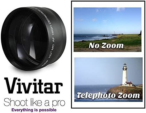 Telephoto Lens HD for Samsung NX300 NX2000 NX1100 NX1000 For 16 or 20-50mm