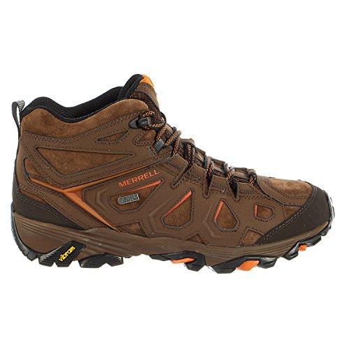 Dark Earth Footwear (Merrell Men's Moab FST LTR Mid Waterproof Hiking Boot, Dark Earth, 8 M US)
