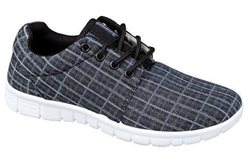 gibra - Zapatillas de tela para mujer Negro - antracita