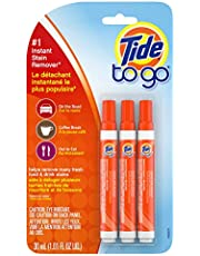 Tide To Go Pen, Instant Stain Remover Stick for Laundry, 3 Count