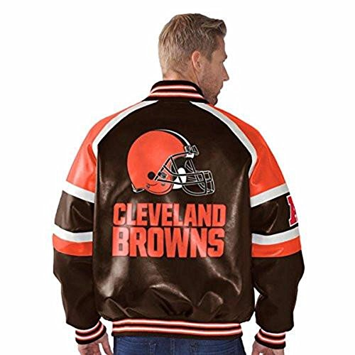 Cleveland Browns Leather Jacket Leather Browns Jacket