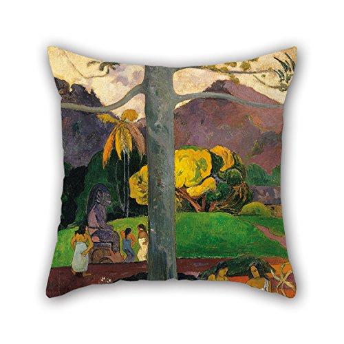 MeiGi Cushion Covers Of Oil Painting Paul Gauguin - Mata Mua