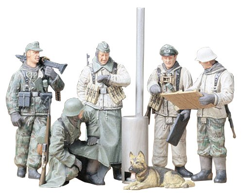 Tamiya Models German Soldiers at Field Briefing