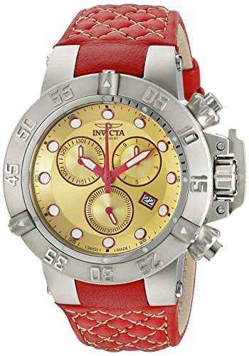 Invicta Women's 19758 Subaqua Analog Display Swiss Quartz Red Watch