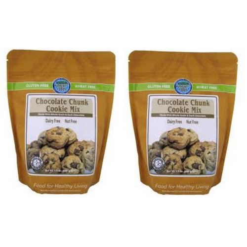 Authentic Foods Chocolate Chunk Cookie Mix - 1.5Lb Each - 2 Pack
