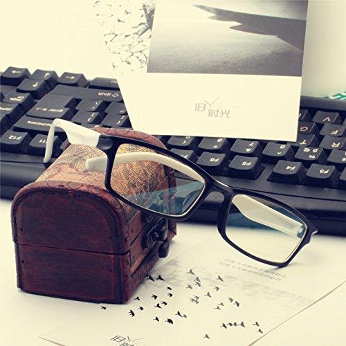 aucun degré de verres de lunettes section star des jeux informatiques des marées et des yeux de lunettes tide. Pattes blanches (tissu)