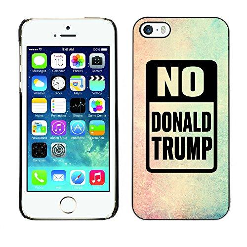 Print Motif Coque de protection Case Cover // Q04150515 Arrêter le cadre de couleur Trump // Apple iPhone 5 5S 5G
