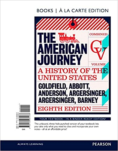 Amazon american journey the combined volume books a la american journey the combined volume books a la carte edition 8th edition 8th edition fandeluxe Gallery