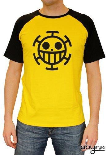 ONE PIECE camiseta Trafalgar Law Amarillo extra grande (115 cm Pecho)