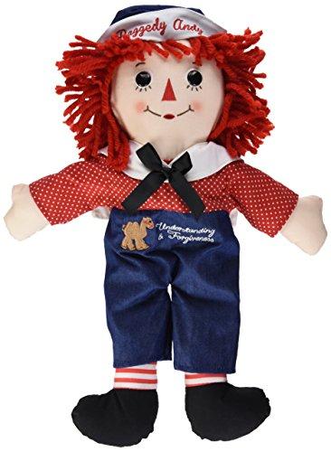 Aurora World Raggedy Andy Classic Doll, Multicolor, (Andy Plush Doll)