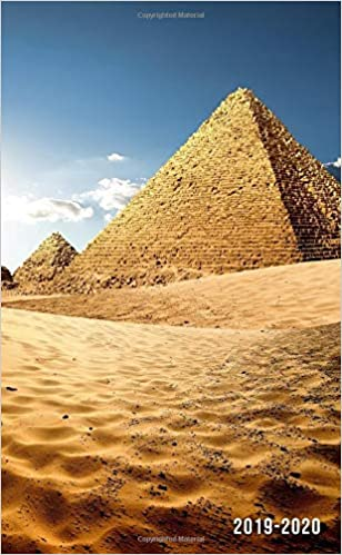 2019-2020: Two-Year Egyptian Pyramids Monthly Pocket Planner ...