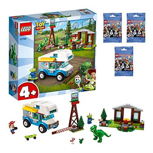 레고(LEGO) 토이 스토리4 토이・스토리4 RV《바케숀》 레고 미니 피규어 디즈니 시리즈 3개 세트