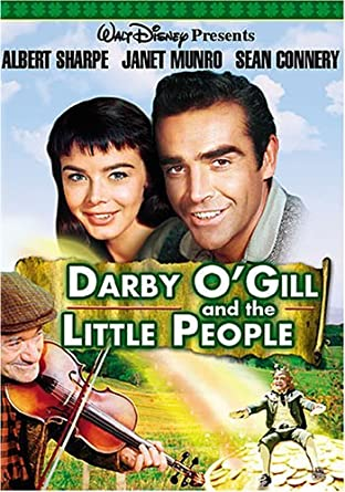 Darby O'Gill And The Little People by Albert Sharpe: Amazon.co.uk: DVD &  Blu-ray