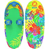 ZUP DoMore All-in-One Watersports Performance Board - Hex Pattern - Kneeboard, Wakeboard, Wakesurf Board and Water Skis! (Tropical)
