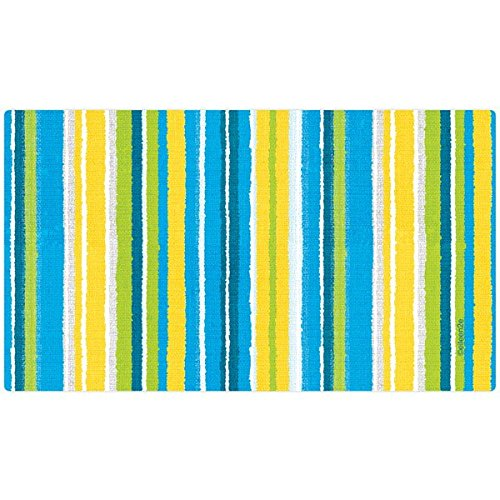 Drymate Stripe Bath & Grooming Mat for Dogs, 17