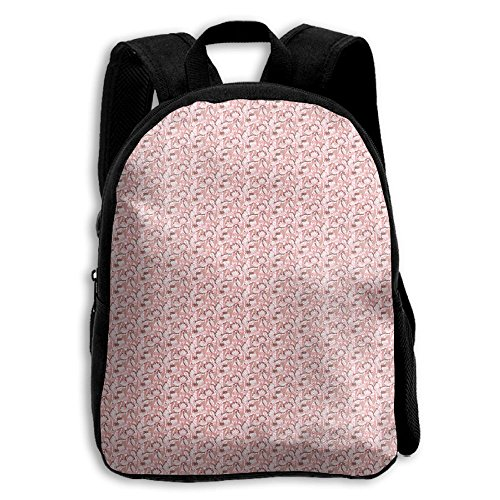 Chicory Apparel - Pink Iris Flower Floral Spring Kid Boys Girls Toddler Pre School Backpack Bags Lightweight