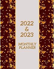 2022-2023 Monthly Planner: Two Year Planner Calendar Schedule Organizer, 24 Months Agenda, Notes & Monthly Calendar