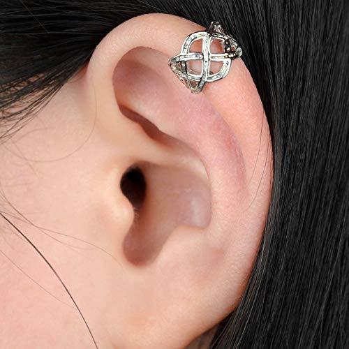 Jewelrykkyyloveyou Womens Punk Rock Hollow Celtic Knot Wrap Ear Cuff No Piercing Earring Wholesale by KKYY -