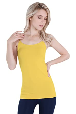 61f83a5e9157b7 Nikibiki Women s Seamless Premium Classic Camisole
