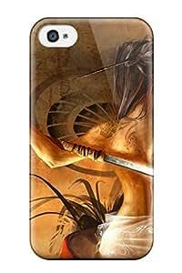 Flexible Tpu Back Case Cover For Iphone 4/4s - Kal Online WANGJING JINDA