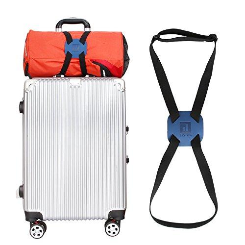 Bag Bungee Luggage Straps Suitcase Adjustable Belt(Blue)