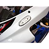 Hotbodies Racing S06GS-SIG-CLR LED Blinker/Mirror Block-Off with Clear Lens